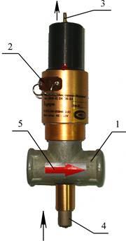 Отправлены устройства загазованности УКЗ-РУ с клапаном КЗГУИ.